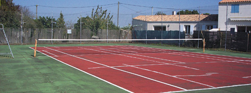 Terrain de Tennis